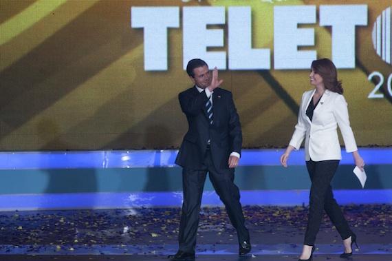 La ONU urge al gobierno mexicano a no entregar al Teletón recursos para rehabilitar a discapacitados. Foto: Cuartoscuro