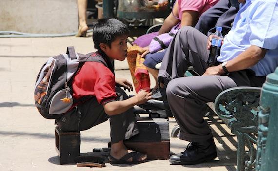 México está entre los países en los que más aumentó la pobreza infantil. Foto: Cuartoscuro.