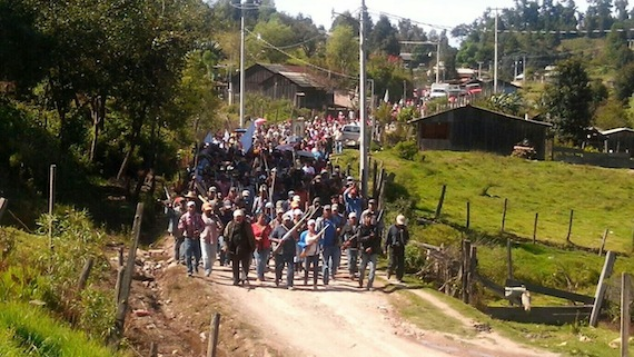 El levantamiento en armas ocurrió el pasado domingo 2 de noviembre. Foto: Facebook.