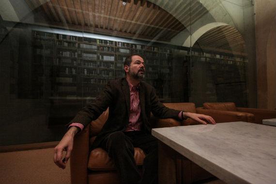 Juan Villoro concedió una entrevista para hablar exclusivamente de México y su situación política. Foto: Francisco Cañedo, SinEmbargo