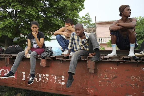 Los últimos años ha aumentado sustancialmente la cantidad de niñas, niños y adolescentes no acompañados y/o separados en México, provenientes de Honduras, Guatemala y El Salvador: ACNUR.  Foto: Cuartoscuro