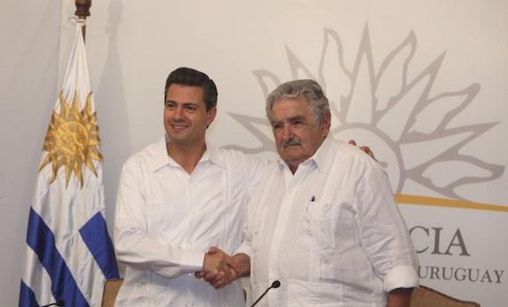 El Presidente de Uruguay, José Mujica, dijo que México parece un Estado fallido. Foto: Cuartoscuro