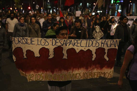 """reconoció """"el rol invaluable e insustituible"""" que tienen las familias y las organizaciones que defienden los derechos humanos de las personas desaparecidas. Foto: Cuartoscuro."""