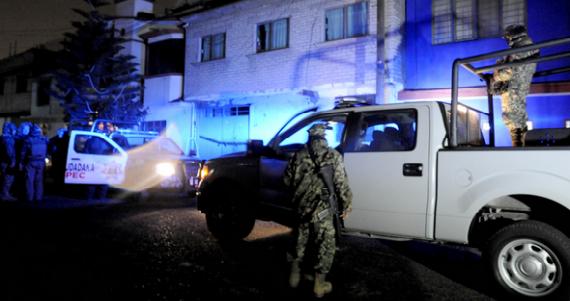 El Estado de México y Guerrero son nuevamente las entidades más violentas en el país. Foto Cuartoscuro