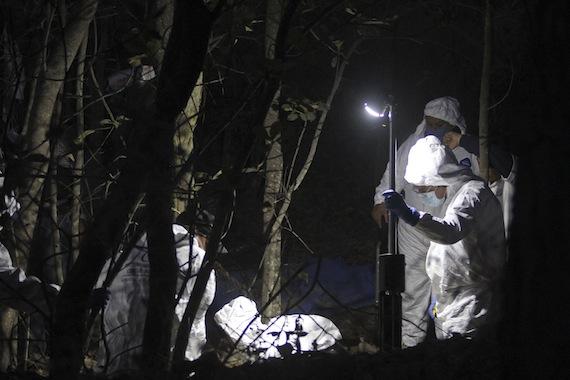 Fosas clandestinas han sido localizadas en varios estados del país. Foto: Cuartoscuro