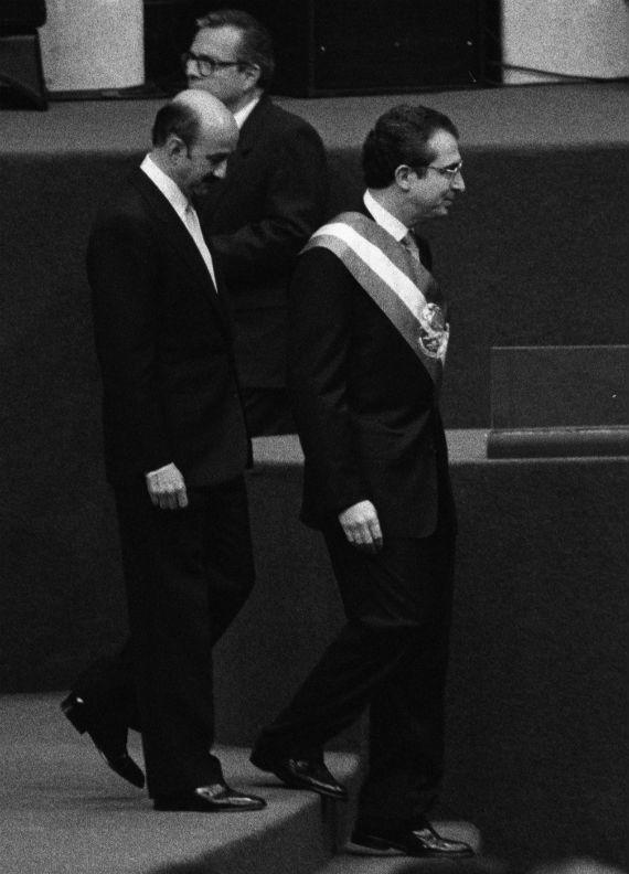 """En su libro """"La Década Perdida"""", Carlos Salinas de Gortari señala que con el gobierno de Ernesto Zedillo, el país sufrió un viraje histórico que provocó una década de parálisis y que entre 1995 y 1998 se tomaron decisiones que provocaron la ruina económica y social más grave desde la Revolución de 1910. Foto: Cuartoscuro"""