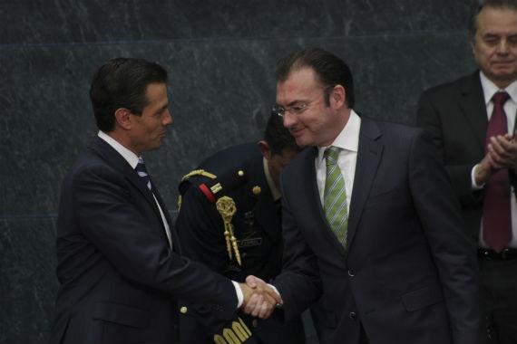 El hombre de Peña Nieto. Foto: Cuartoscuro.