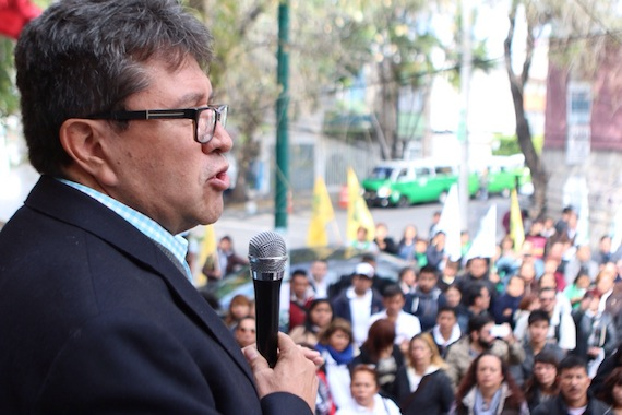 """Monreal Ávila indicó que los derechos humanos en el país están en su """"parte más crítica"""". Foto: Francisco Cañedo, SinEmbargo."""