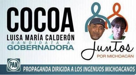 Meme relacionado con la campaña de Luisa MAría Calderón. Foto: Twitter.