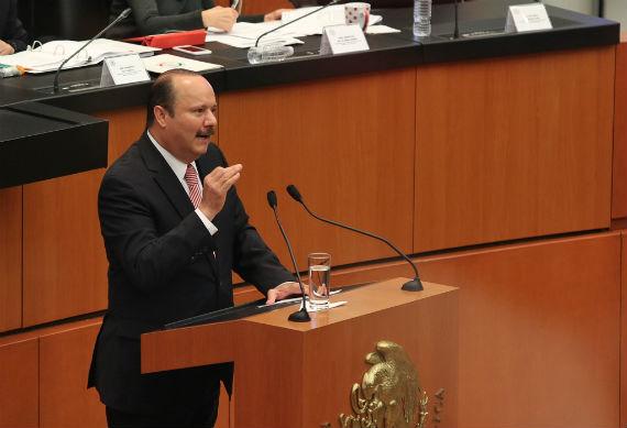 El Gobernador de Chihuahua arremetió contra el Senador Javier Corral y su familia. Foto: Francisco Cañedo, SinEmbargo