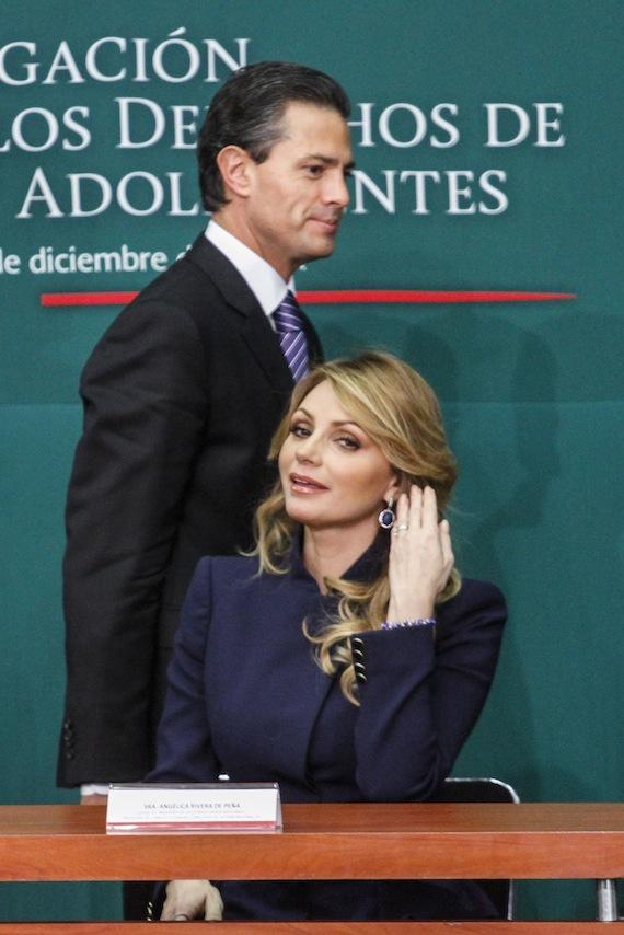 La pareja presidencial fue señalada por conflictos de interés con Grupo Higa. Foto: Cuartoscuro.