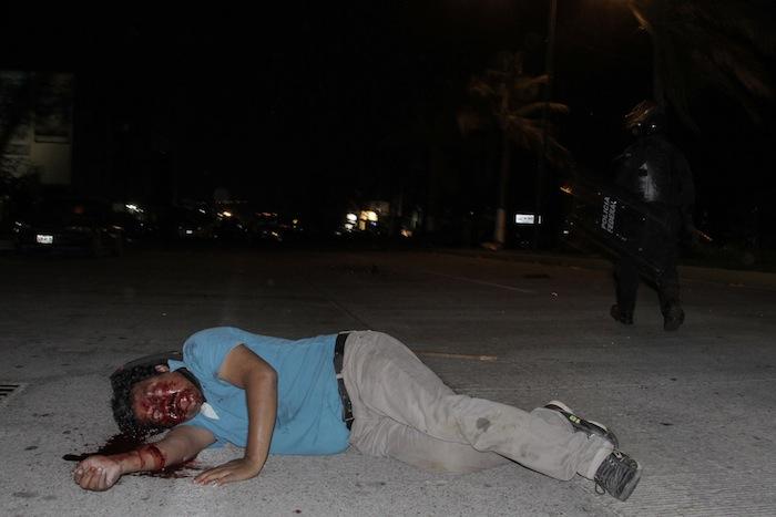 El Gobierno de Guerrero emitió un comunicado en el que se deslindó del operativo. Foto: Cuartoscuro.