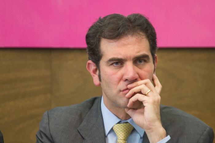 """Córdova dijo que también hay que tomar en cuenta """"que cada vez que arranca un proceso electoral la intensidad del debate político se incrementa"""". Foto: Cuartoscuro."""