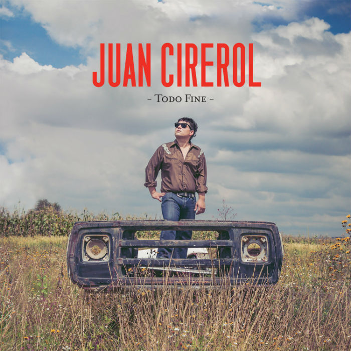 El primer disco de Juan Cirerol con Universal Music. Foto: Universal Music