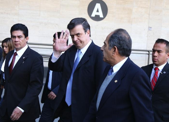 Marcelo Ebrard anunció su salida del PRD. Foto: Cuartoscuro