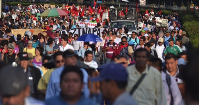 Manifestaciones.  Foto: Ariana Pérez, SinEmbargo