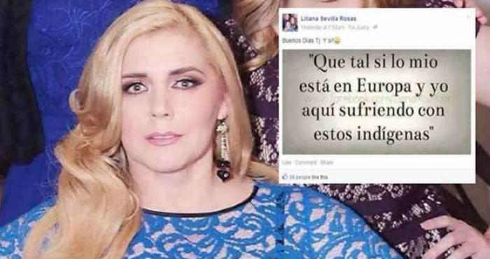"""""""Que tal si lo mío está en Europa y yo aquí sufriendo con estos indígenas"""": publicó en Facebook funcionaria de Tijuana"""