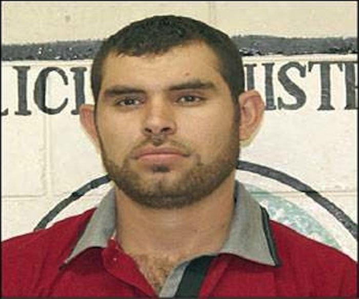 Ocho días después del asesinato de Sandra, la PGJE presentó a Jesús Fernando Valenzuela Rodríguez. Foto: Especial.