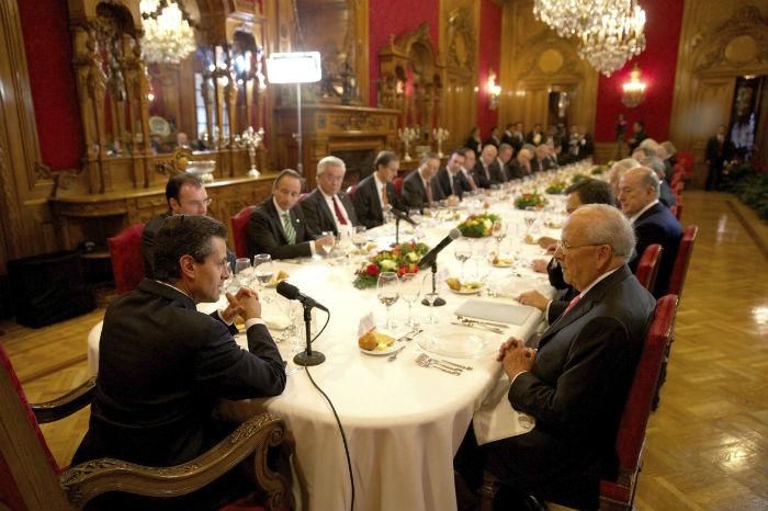 Los empresarios más importantes del país, muchos de ellos identificados históricamente con el PRI, también inviertan ahora en el sector energético mexicano. Foto: Cuartoscuro