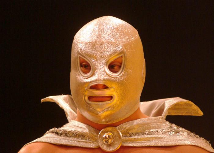 """En la imagen se puede observar a """"El Hijo del Santo"""", cuyo padre fue uno de los representantes más legendarios de este deporte-espectáculo en México. Foto: Cuartoscuro/Archivo"""