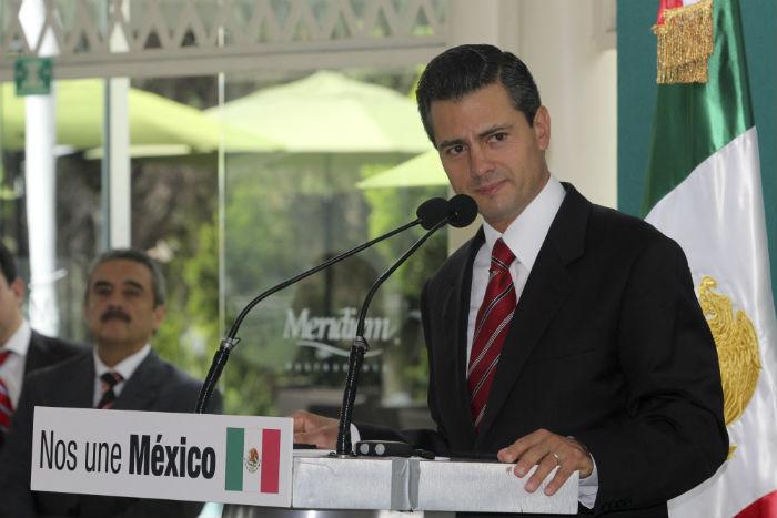 La promesa de regular la publicidad oficial se lanzó desde la campaña presidencia de 2012. Foto: Cuartoscuro
