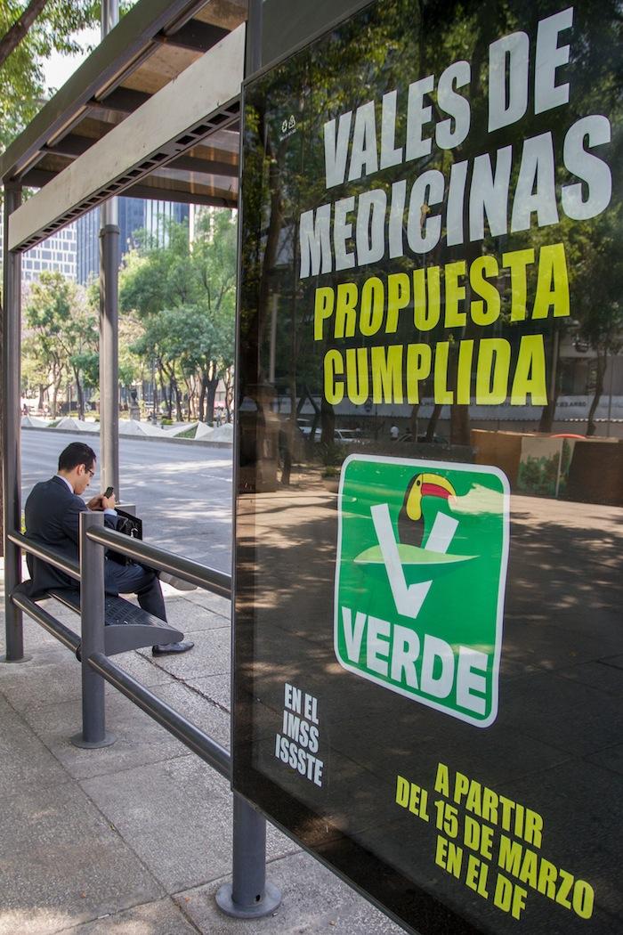 El PVEM ha sido criticado por una fuerte campaña para promocionar su imagen Foto: Cuartoscuro