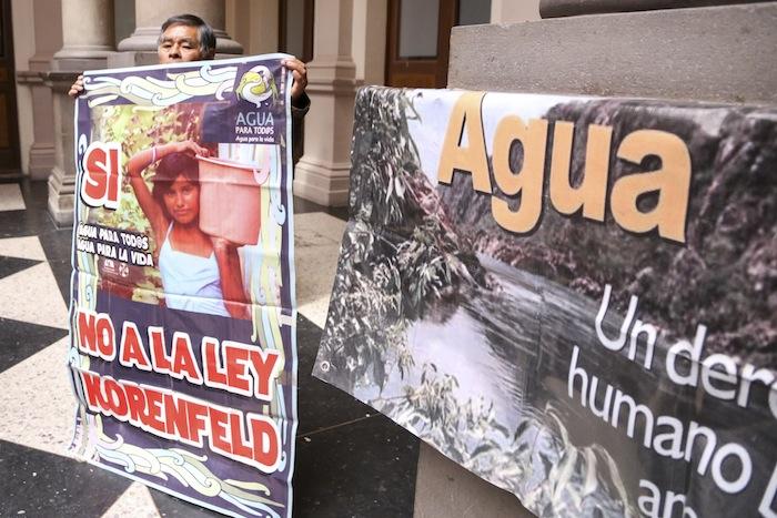Una manifestación del pasado 9 de febrero en contra de la legislación. Foto: Cuartoscuro
