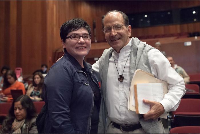 El padre Alejandro Solalinde, uno de los aliados de la hermana Leticia. Foto: Prometeo Lucero, especial