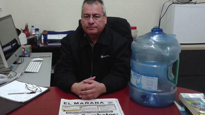 Enrique Juárez Torres, director de El Mañana. Fue secuestrado y amenazado. Foto: Twitter