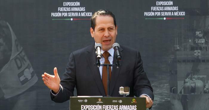 El priista Eruviel Ávila Villegas, Gobernador del Estado de México. Foto: Cuartoscuro