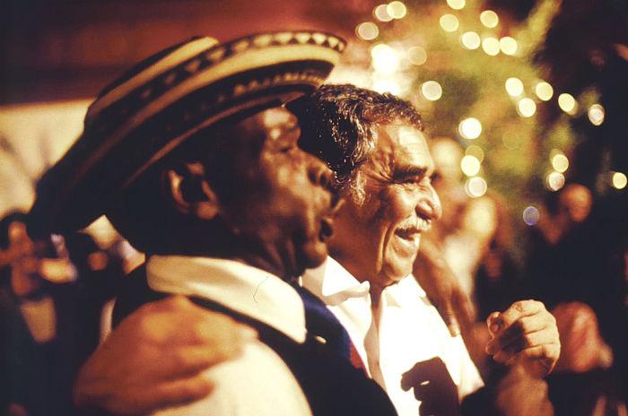 Gabo: latinoamericano y caribeño, sonriente, simpático... Foto: Archivo de Darío Arizmendi
