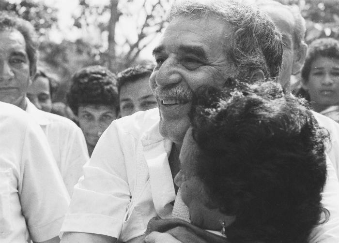 Gabo fue un hombre de pueblo, de su gente. Foto: Archivo de Darío Arizmendi