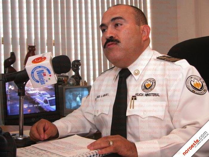 Jesús Antonio Aguilar Íñiguez en su despacho. Foto: Noroeste/Archivo.