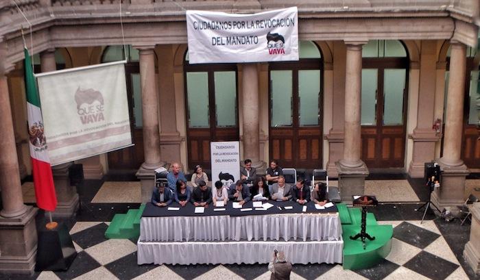 Políticos, académicos y activistas integran la campaña. Foto: Francisco Cañedo, SinEmbargo.