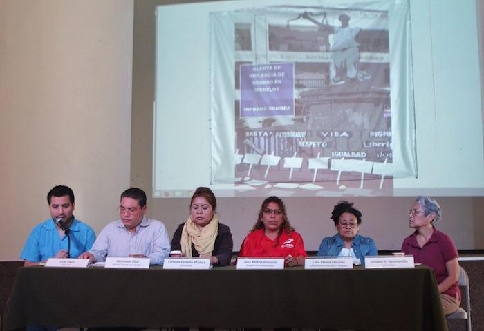 Los activistas dijeron que la fecha y con los 103 feminicidios nuevos, suman 633 del 2000 a febrero de 2015. Foto: Francisco Cañedo, SinEmbargo.
