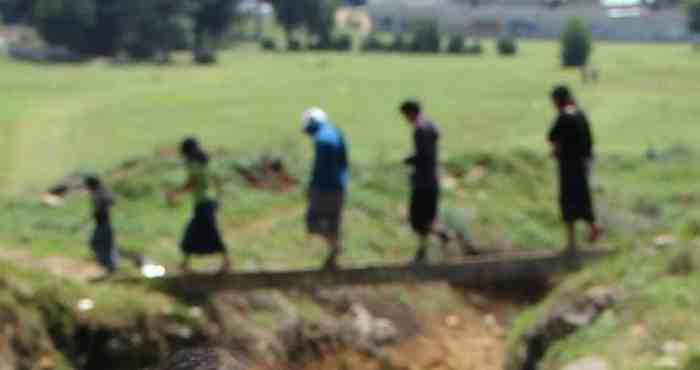 Desplazados por violencia en sus comunidades. Foto: Cuartoscuro