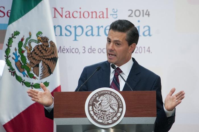 Enrique Peña Nieto, Presidente de México. Foto: Cuartoscuro
