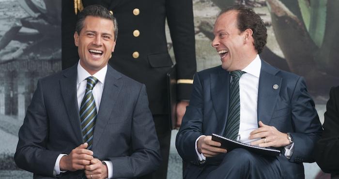 El Presidente Enrique Peña Nieto y David Korenfeld Federman, titular de la Conagua. Foto: Cuartoscuro