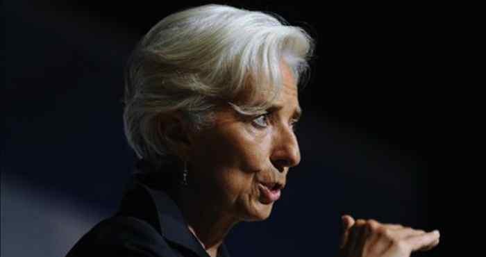 La directora del FMI, Christine Lagarde. Foto: EFE