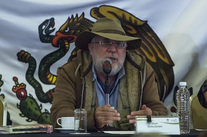Javier Sicilia Zardain,líder del Movimiento por la Paz con Justicia y Dignidad. Foto: Cuartoscuro