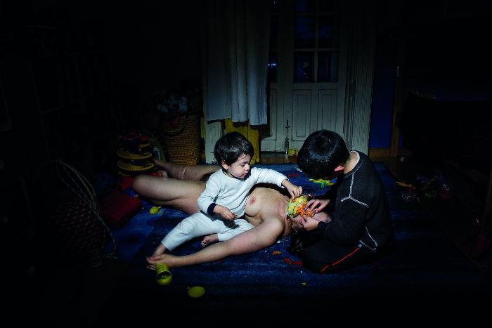 """""""Cuarto de juegos II"""", de la serie Kinderwunsch, por Ana Casas. Foto: Cortesía Ana Casas"""