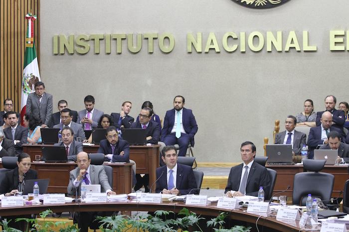 El Consejero Presidente del INE, Lorenzo Córdova dijo que el mensaje de Zavala está dentro de la ley. Foto: Luis Barrón, SinEmbargo.