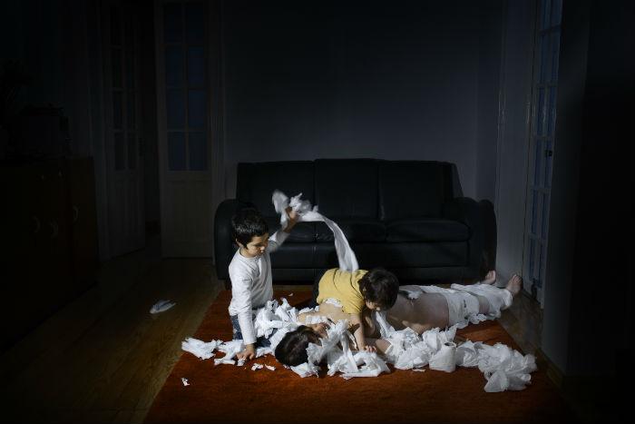 """""""Momia II"""", de la serie Kinderwunsch, por Ana Casas. Foto: Cortesía Ana Casas"""
