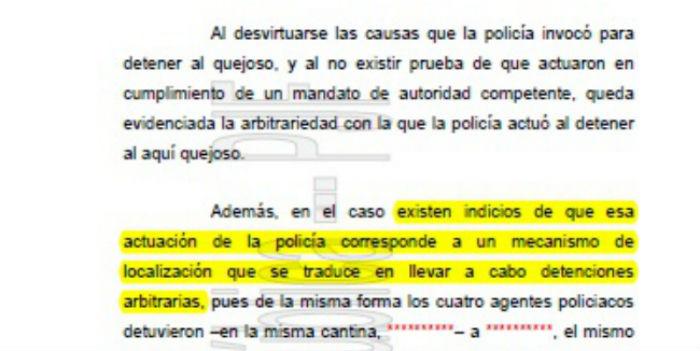 En el amparo que un tribunal concedió al señalado por la PGJDF como el homicida de se señala que existen indicios de que la policía cometió detencions arbitarias. Imagen: Cortesía Univision