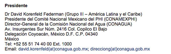 De hecho, en la página de la Unesco sigue apareciendo con el cargo que tuvo en México antes de que, por presiones de la opinión pública, tuviera que renunciar.