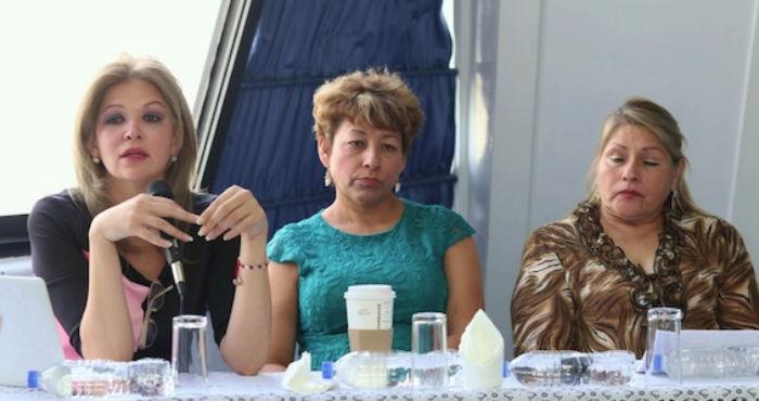 Familiares de víctimas de desaparición denunciaron sus casos ante la PGR y la CNDH. Foto: Francisco Cañedo, SinEmbargo