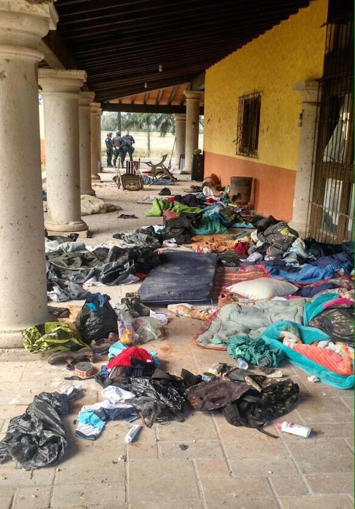 El enfrentamiento se dio en la comunidad de Tinaja de Vargas. Foto: Cuartoscuro