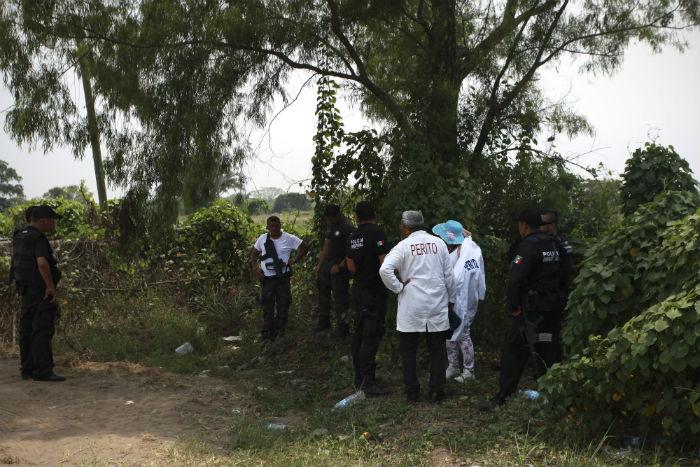 Los cadáveres de 72 migrantes fueron encontrados en San Fernando, Tamaulipas. Foto: Cuartoscuro