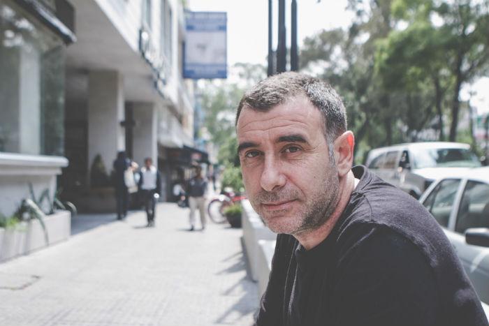 Nació en San Sebastián, España, pero vive hace 26 años en México. Foto: Francisco Cañedo, SinEmbargo