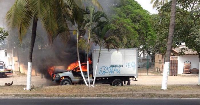 Nueva jornada de violencia en Jalisco. Foto: Vía Twitter @ahtziricardenas